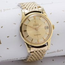 Omega Constellation Gold Capped Pie Pan