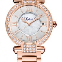 Chopard Imperiale 18K Rose Gold, Diamonds & Amethysts...