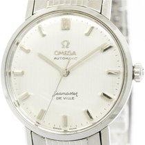 Omega Vintage Omega Seamaster De Ville Steel Automatic Mens...