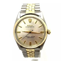 Rolex Oyster Perpetual 2 Tone Mens/unisex Watch Solid Gold...