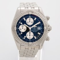 Breitling Chronomat Evolution A13356 Box & Chronometer...