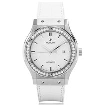 Hublot Classic Fusion Diamond Manual Unisex Watch 542.NE.2010....