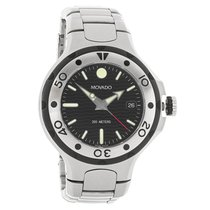 Movado Series 800 Mens Stainless Steel Quartz Watch 2600001