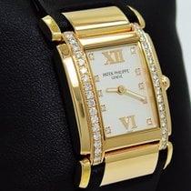 Patek Philippe Twenty 4 4920r 18k Rose Gold Diamonds Ladies...