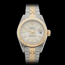 Rolex Datejust Stainless Steel & 18k Yellow Gold Ladies...