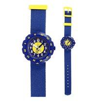 Flik Flak Asteriscus Blue Dial Nylon Strap Boy's Watch Zfpsp023