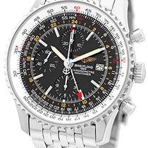 """Breitling """"Navitimer World GMT Chronograph""""."""