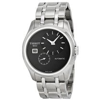 Tissot Couturier Automatic Black Dial Stainless Steel Men'...