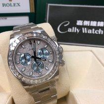 Rolex Cally - 116576TBR Cosmograph Daytona Pave Dia Platinum滿天星