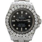 Rolex Sea-Dweller Deepsea 32.5 Carat After Set Diamonds