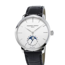 Frederique Constant FC Slimline Moonphase Steel