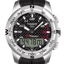 Tissot T-Touch II Titanium Gent Black Dial 43mm T