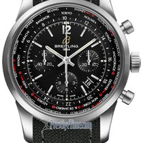 Breitling Transocean Chronograph Unitime Pilot ab0510u6/bc26-1ft