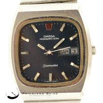 Omega Seamaster Megaquartz 32 Khz Day & Date Mens Vintage...