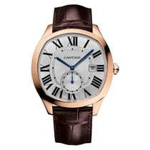 Cartier Drive de Cartier 40mm Rose Gold Watch on Leather