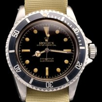 Rolex Submariner ref 5512 chapter ring exclamation point dial