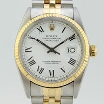 Rolex Oyster Perpetual Datejust Automatic Stee-Gold 16013