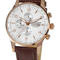 Jacques Lemans 1-1844F London Herren Chrono 44mm 10ATM
