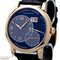 A. Lange & Söhne Big Lange1 Ref-115-031 18k Rose Gold Two...
