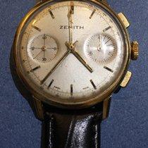 Zenith Chronograph gold 18 kt original dial calibro 146