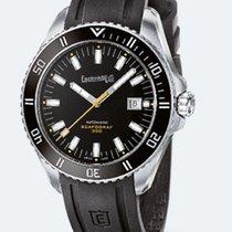 Eberhard & Co. SCAFOGRAF 300 Steel-Black Bezel, Dial &...