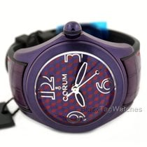 Corum Bubble Automatis Ladies Purple Red