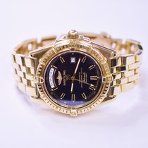 Breitling Headwind 44mm 18K Yellow Gold Mens Watch 0276...