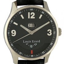 Louis Erard 1931 Big Date GMT Stahl Automatik 44mm