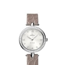 Omega 42418276052001 De Ville Prestige Diamonds Ladies Watch