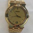 Gucci Unisex Gold Tone Wristwatch