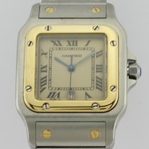 Cartier 18K GOLD AND STEEL QUARTZ 187901