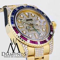 Ρολεξ (Rolex) Gmt Master Ii 116718 18k Yellow Gold Pepsi...