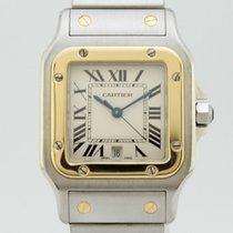 Cartier Santos Galbée Quartz Steel-Gold 1566