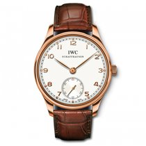 IWC Portuguese Automatic White Dial Rose Gold  Watch