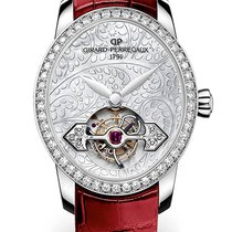 Girard Perregaux CAT'S EYE TOURBILLON GOLD BRIDGE Diamonds...
