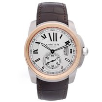 Cartier Calibre de Cartier Men's Large 42mm 2-Tone Steel...