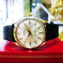 Tudor Mens Vintage  Stainless Steel Gold 34mm Ref: 7987/5...