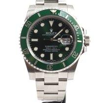Rolex Submariner Green dial green bezel Hulk 116610LV