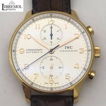 IWC Portuguese Chronograph Gold