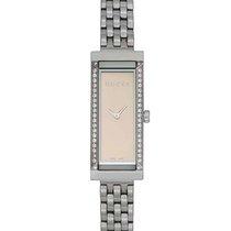 Gucci G-Frame Stainless Steel Quartz Ladies Watch YA127508