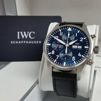 IWC Blue Pilot Chronograph Le Petit Prince Box Papers