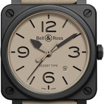 Bell & Ross Bell&Ross BR03-92 Desert Type Ceramic NEU