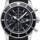 Breitling Superocean Heritage 46 Chronograph Black Dial Rubber