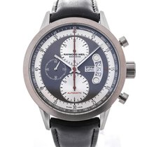 Raymond Weil Freelancer Automatic Chronograph 45 Black Leather...