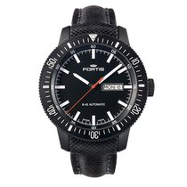 Fortis MONOLITH Black Date PVD Day Automatic 6471831