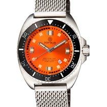 Deep Blue Deep Star 1000 Swiss Auto Dive Watch Ceram Bez Oran...