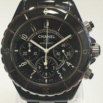 Chanel Black Ceramic  Chronograph J12