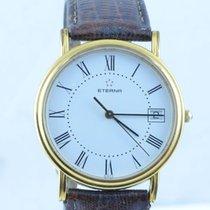 Eterna Damen Uhr Quartz Stahl/stahl 34mm Klassische Damen  Uhr