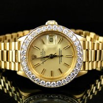 Rolex Pre-Owned Ladies 27 MM Rolex President Day-Date 18k...