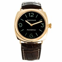 Panerai Historic Collection Radiomir 18K Rose Gold Watch...